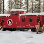 Locomotive Luxury – A Uniquely Tiny Mountain Getaway