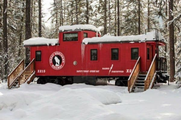 Locomotive Luxury – A Uniquely Tiny Mountain Getaway