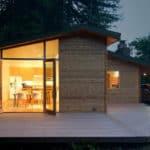 Humble Cabin Transformed Into A Sleek Modern Home