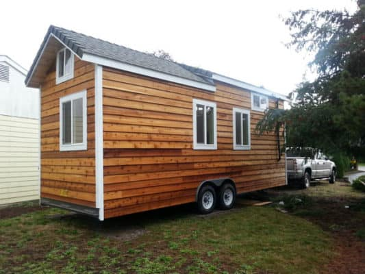 Interview With A New Tiny Home Owner + Pics Of Their Custom Build