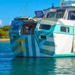 Couple Transforms Their Sailboat Into A Floating New York Style Pizzeria