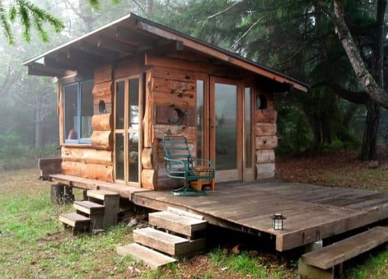 Tiny-house-in-the-woods