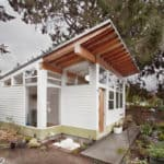 A Peaceful Backyard Studio Provides Inspiration For Gardening And Art