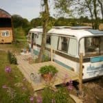 Rescued Bus Made Into Shabby Chic Rental In The Countryside