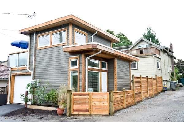 Tiny Home In Parents' Backyard