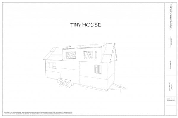 Free Set Of Tiny House Plans [download]