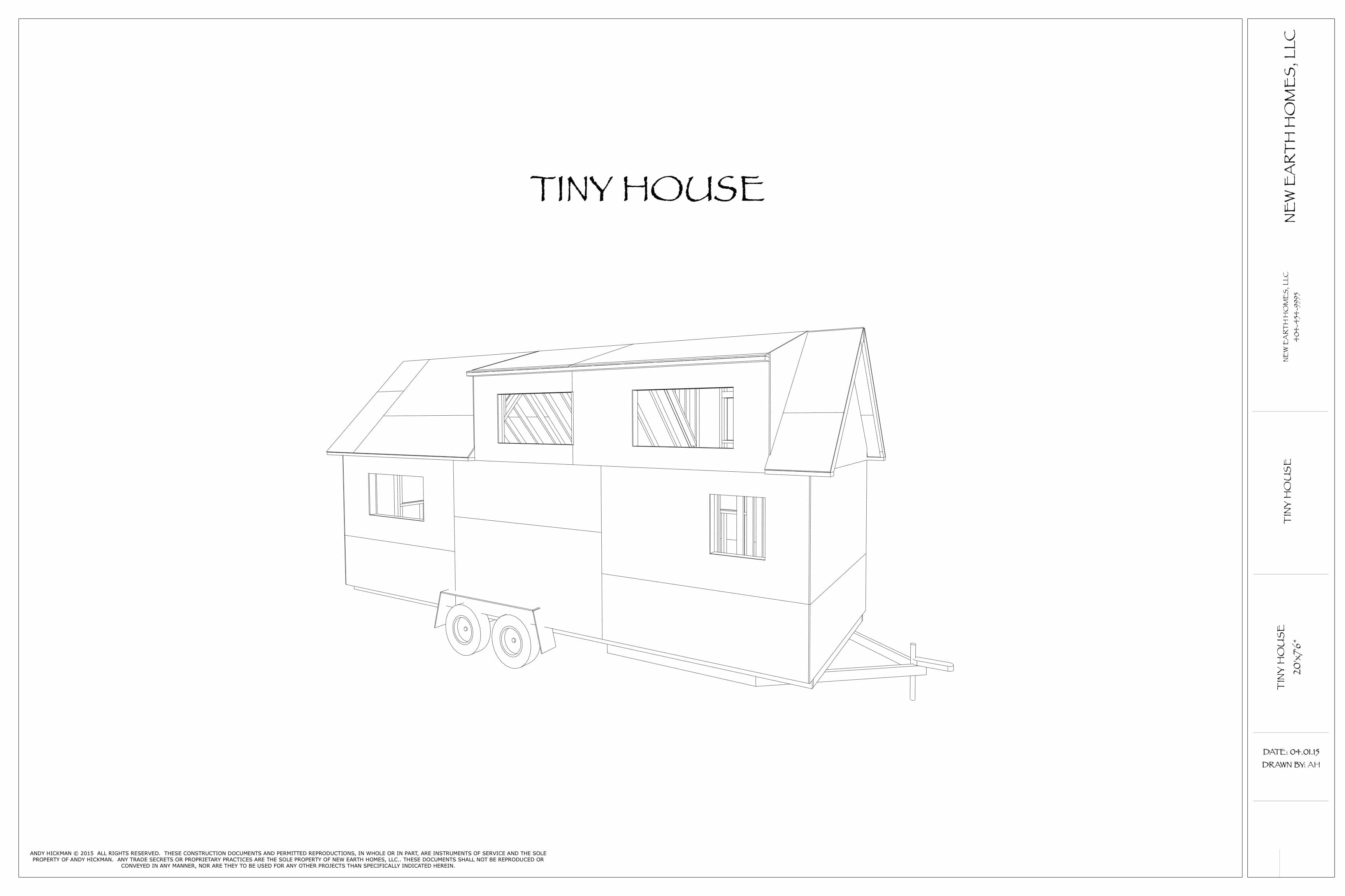 Free Set Of Tiny House Plans [download] ...