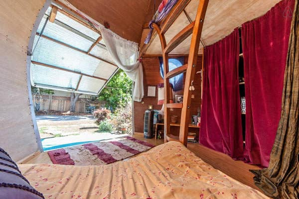 The Apple: A Bohemian-Chic Glamping Guest Pod
