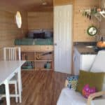 Mallory's Perfectly Adorable 180sf Gypsy Wagon