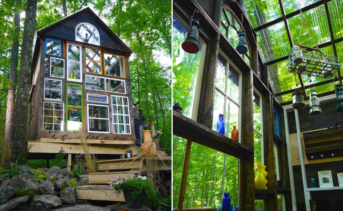 Enchanting Glass House Built In Just Four Days