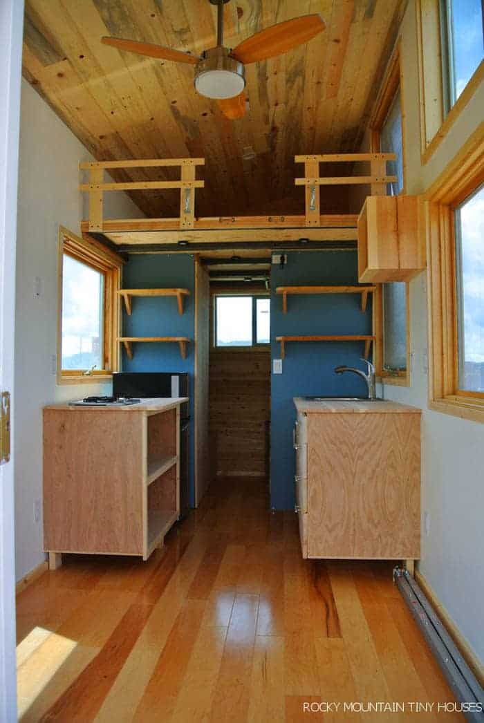 "Tiny Home Designs: The ""Front Range"" Channels The Spirit Of The West With A"