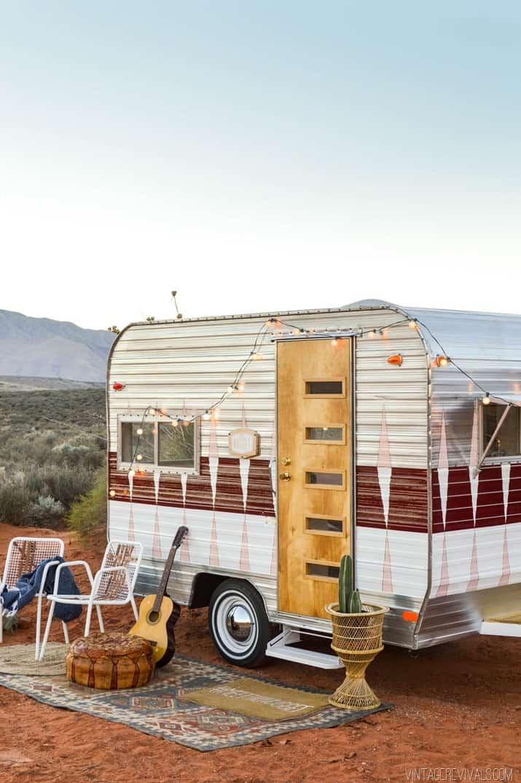 Restore A Vintage Camper