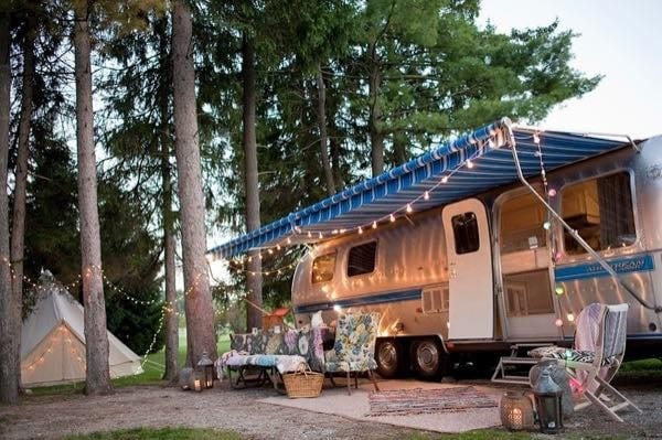 This Stunning Vintage Airstream Remodel Makes For A Dreamy Family Escape
