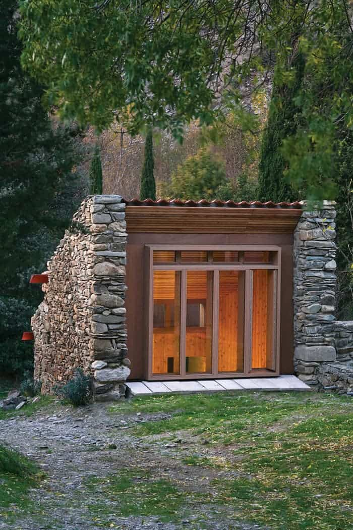 The ultimate fixer upper a ruined stone building reborn for Small stone cabin