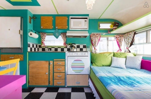 Vintage Trailer Restoration With A Hip Amp Colorful Vibe