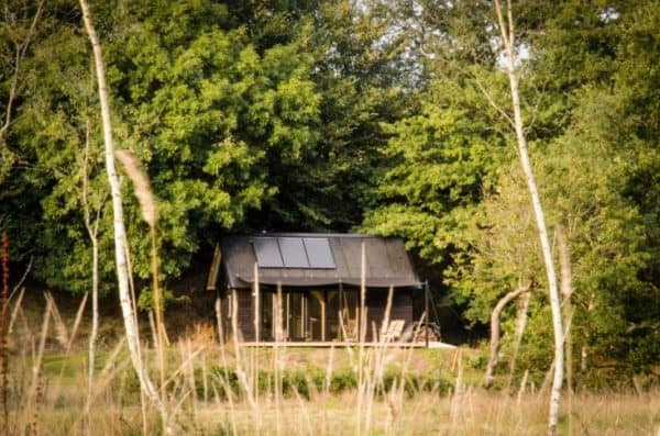 He Left London To Build A Dreamy Offgrid Cabin By The River