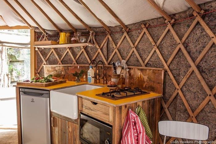 Exceptionnel Bramblewood Yurt 3