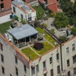 There's A Hidden Cottage Paradise On This Rooftop In NYC