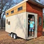 College Student Builds Tiny Home for Debt-Free Living