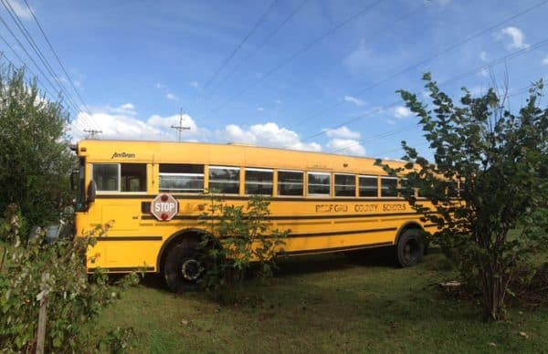 They Bought A Big Yellow Bus For $2000, And Made It Into Something Incredible