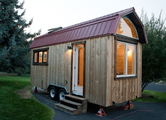 Couple Builds Their First Tiny House