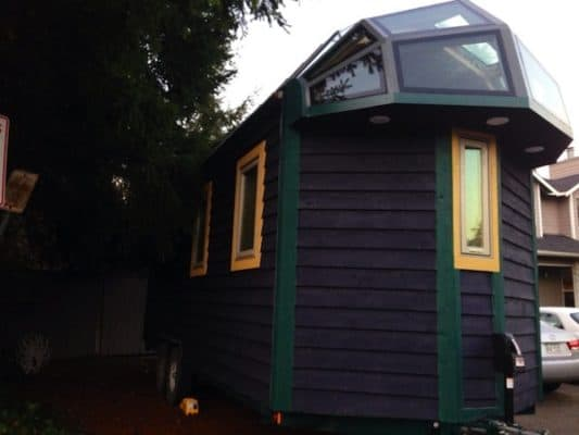This Aluminum Tiny House Has One Very Incredible Feature