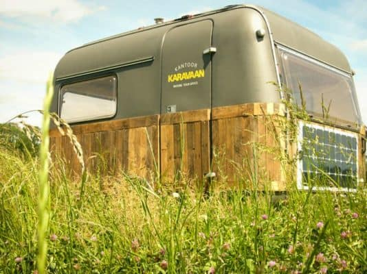 Mobile Offgrid Home Office 2