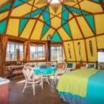 Offgrid Retreat Looks Like Shantytown, But Inside The Domes Are Magical