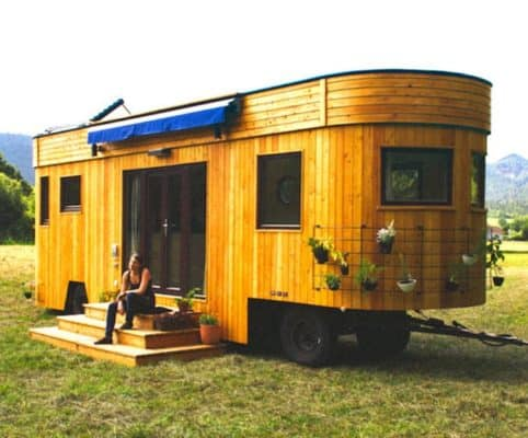 The Offgrid Wohnwagon: Beautiful Inside & Out