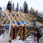 Don't Think You Can Build A Log Cabin For $500? This Guy Did Just That!