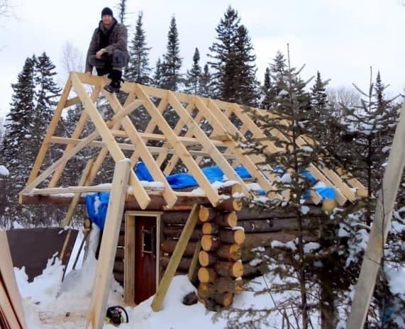 Build A Log Cabin