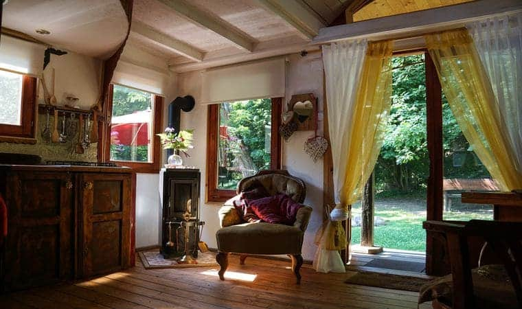 Quirky Offgrid Nomad Cottage Plucked Straight From A Fairytale