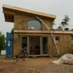 Shipping Container Cob House Makes For Ultra-Efficient Offgrid Living