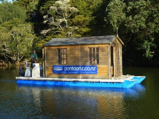 Build Your Own Pontoon Houseboat, And Escape To Open Waters