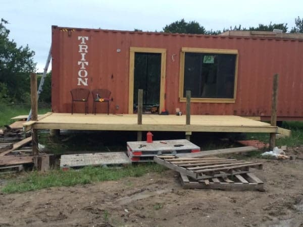 This Couple Used Two Shipping Containers To Build A 620sf Home