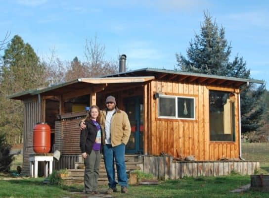 Couple Lives Debt-Free In Their $7k DIY Offgrid Homestead