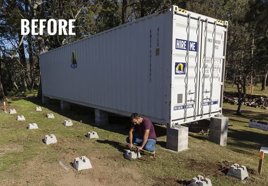 A bloody spectacular 50k shipping container home packed - Shipping container home ideas ...