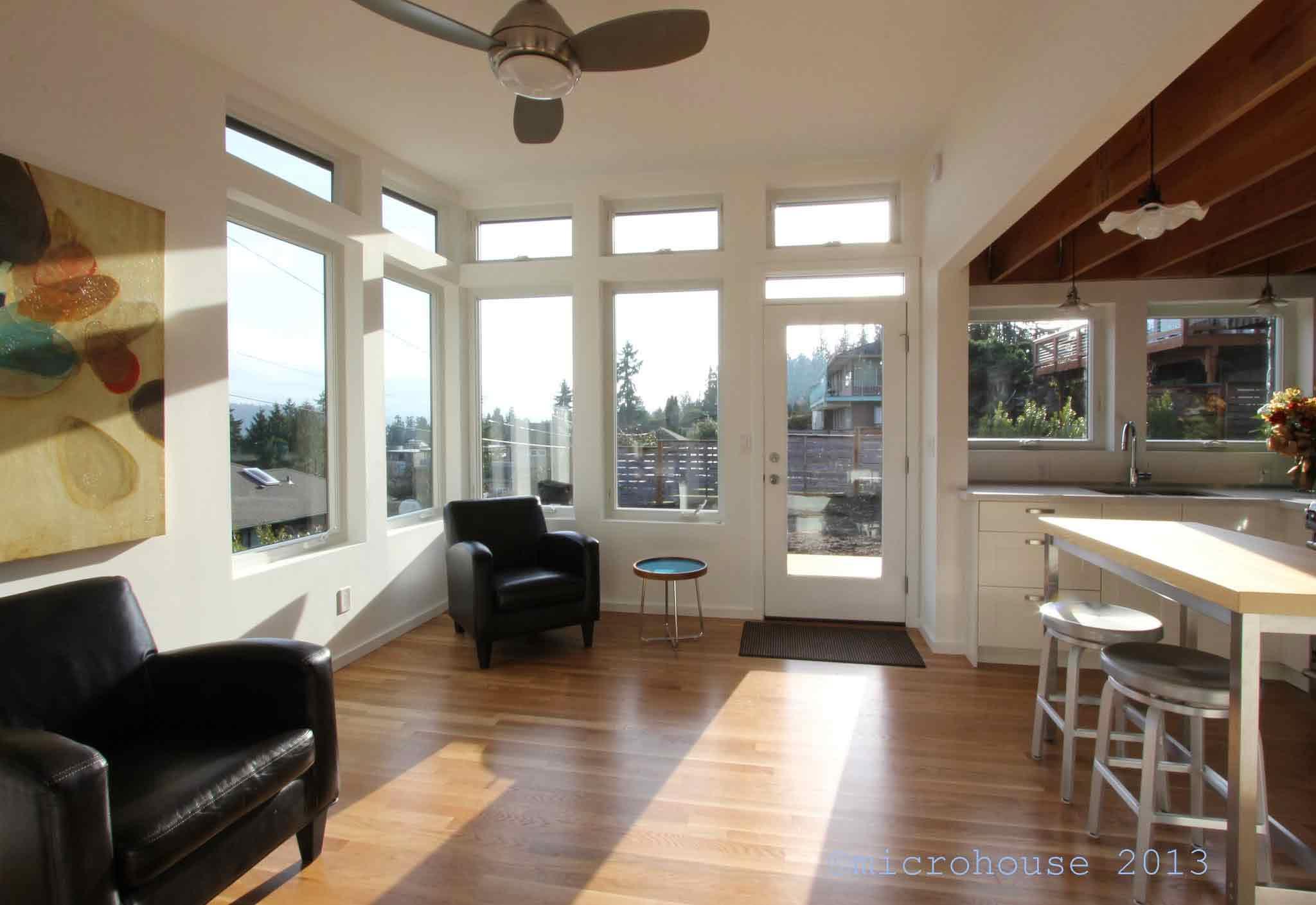 This Stylish Little Seattle Backyard Cottage Keeps Family ...