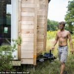 College Student Didn't Like The Idea Of Paying Rent, So He Built A Tiny Home