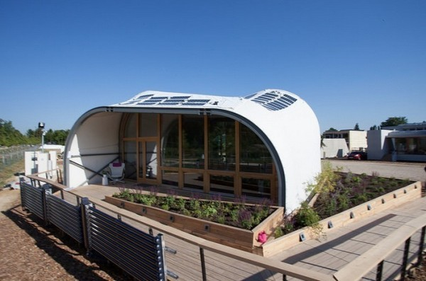 800 Sq. Ft. Techstyle Haus Uses 90% Less Energy