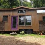 After Decades Of Roaming This Gypsy Soul Settled Into A Beautiful Tiny Home