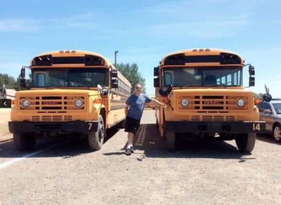 Couple Builds Multiple School Bus Homes For Their Nonprofit