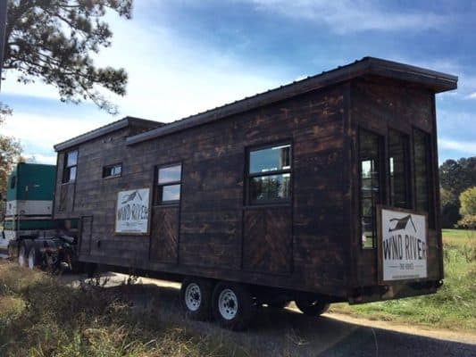 """Phoenix"" Tiny House Perfects Modern Rustic Design"