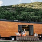 How This Young Couple Built A Stunning DIY Modern Trailer For $50k