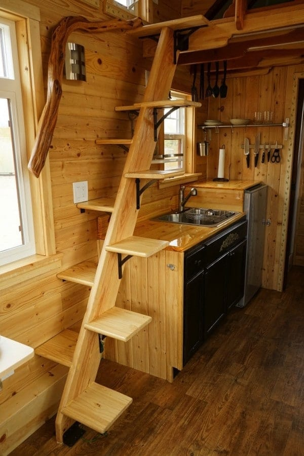 Stunning Detail Throughout This Craftsman Style Tiny Home