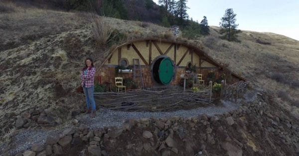 This Woman Is Building A Totally Awesome Tiny Hobbit Home Community