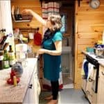 Inspired Woman Lives Debt-Free In Her DIY Tiny Home