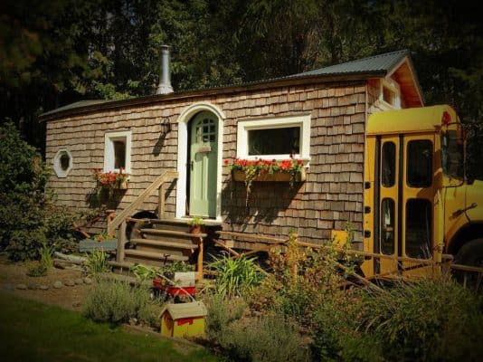 This Yellow School Bus Cottage Is Unlike Anything You've Ever Seen