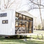 Folding Walls Open To Reveal A Surprisingly Bright And Stylish Tiny Home