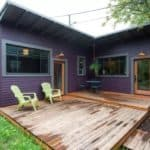This Purple Backyard Cottage Might Be Tiny But It Feels Huge Inside